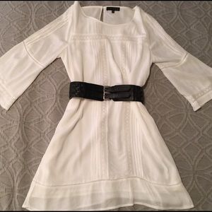 NWOT- Sanctuary gauze and lace white dress